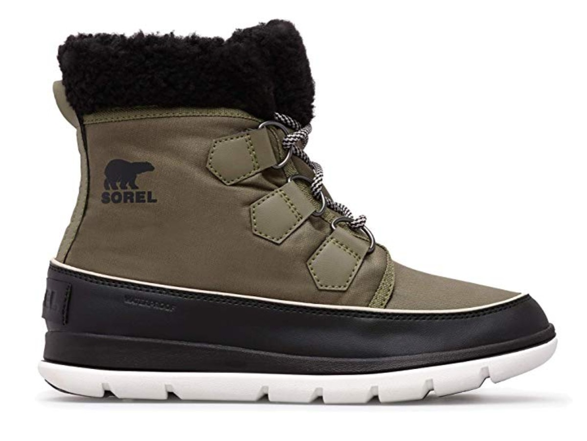Sorel Women's Explorer Carnival Waterproof Insulated Winter Boot