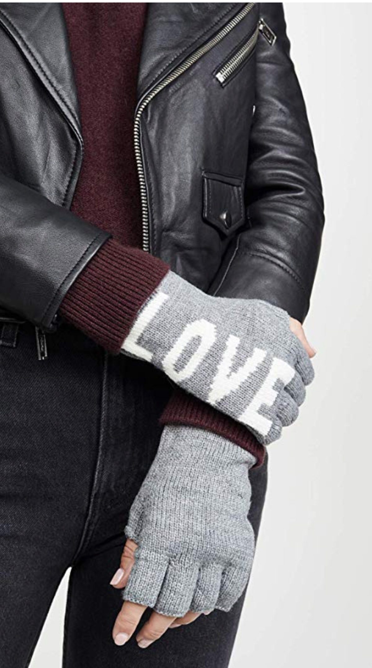 Rebecca Minkoff Women's Stadium Fingerless Gloves