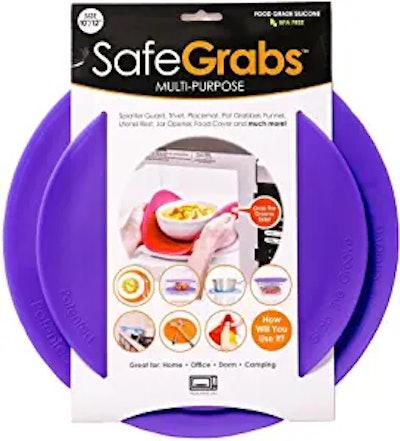 Safe Grabs: Original Multi-Purpose Silicone Microwave Mat