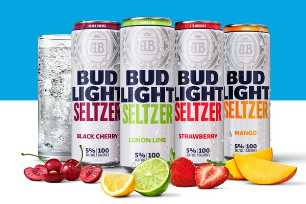 Bud Light hard seltzer will be released in early 2020.