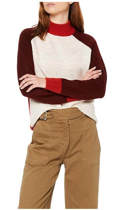 find. Women's Colorblock Sweater