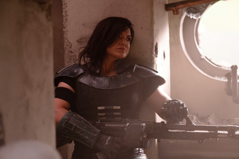 Gina Carano as Cara Dune In Disney+'s 'The Mandalorian.'
