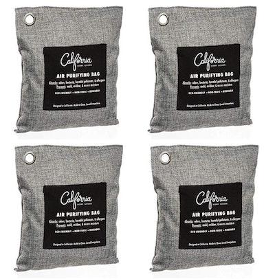 Bamboo Charcoal Air Purifying Bag (4 Pack)