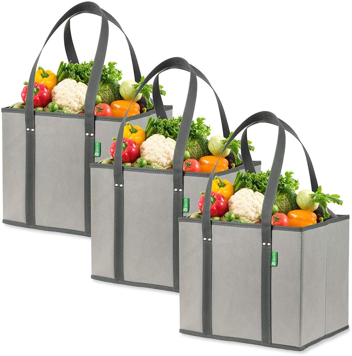 Creative Green Life Reusable Box Bags (3-Pack)