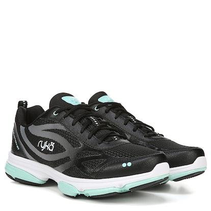 Women's Devotion XT Medium/Wide Training Shoe — Black/Mint