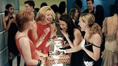Kristin Davis' 'Sex & The City' fantasy reimagines it as a Broadway musical