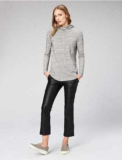 Daily Ritual Terry Long-Sleeve Hooded Pullover
