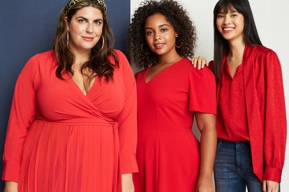 Stitch Fix x Katie Sturino features bold color and strong patterns typically not found in plus sizes.