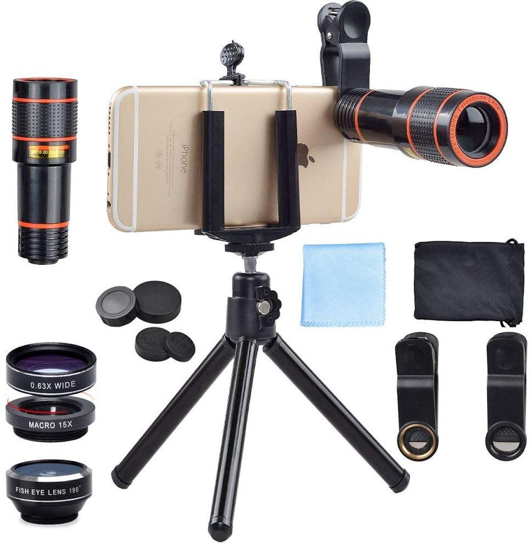 Apexel 4 in 1 Telephoto Lens Kit