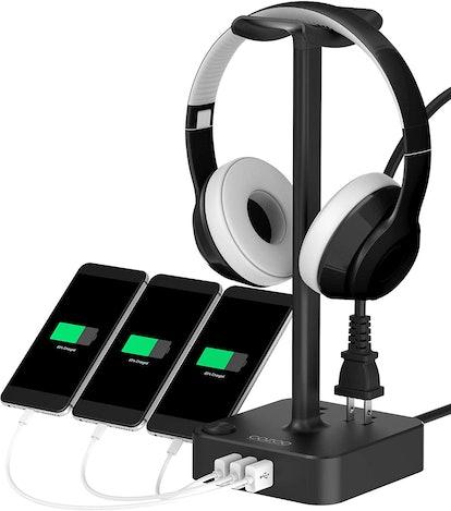 COZOO USB-Port Headset Hanger