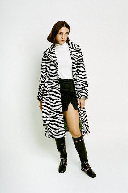 Ole Zebra Coat