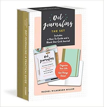 Pot Journaling The Set: Includes a How-To Guide and a Blank Dot-Grid Journal (Set of 2)