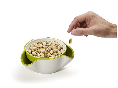 Joseph Joseph Double Dish Pistachio Bowl and Snack Serving Bowl