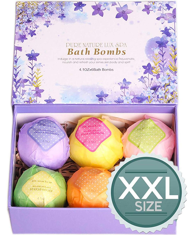 LuxSpa Bath Bombs Gift Set