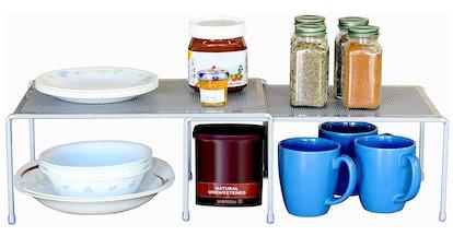 DecoBros Expandable Stackable Kitchen Shelf Organizer