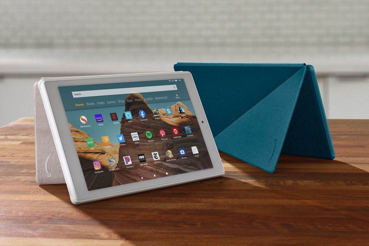 Fire HD 10 Tablet — White