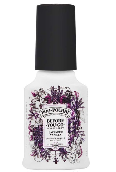 Roll over image to zoom in Poo-Pourri Before-You-Go Toilet Spray, Lavender Vanilla Scent