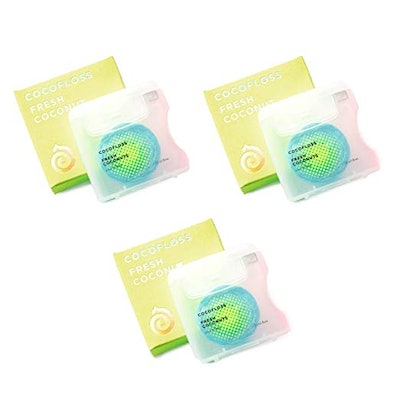 CocoLab Coconut-oil infused luxury dental floss