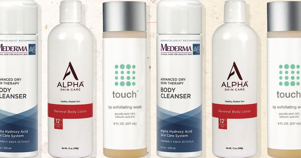 The Best AHA Body Wash