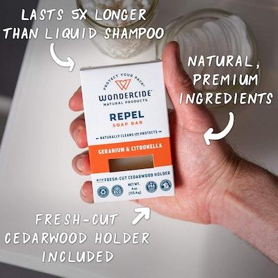 Wondercide Natural Repel Soap Bar