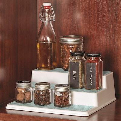 Copco 3-Tier Spice Pantry Kitchen Cabinet Organizer