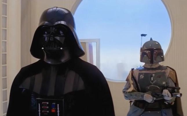 Darth Vader and Boba Fett in 'Star Wars Episode V: The Empire Strikes Back'