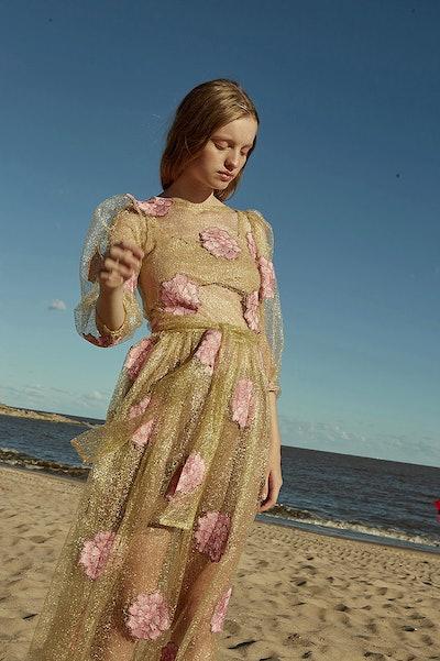 Laia Floral Sheer Dress