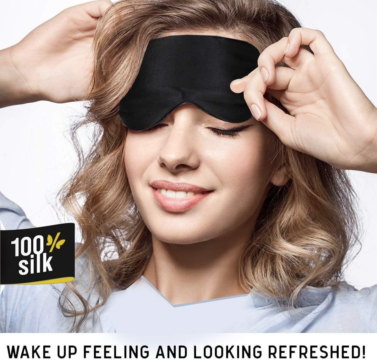 Jersey Slumber Silk Sleep Mask