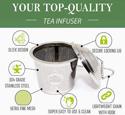 Chefast Tea Infuser Set (3-Pack)