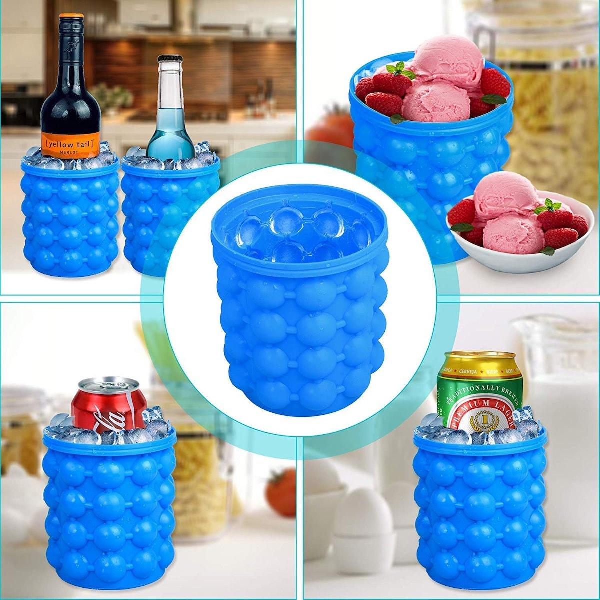 Besmon Ice Cube Mold Ice Bucket
