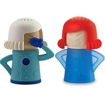 Keledz Microwave Cleaner Angry Mom with Fridge Odor Absorber Cool Mom