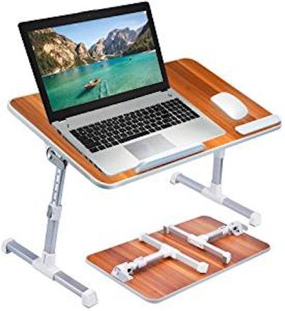 Neetto Height Adjustable Laptop Bed Desk