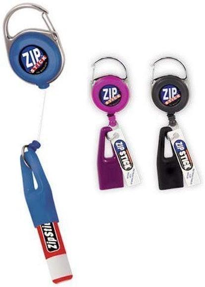 Zip Stick Retractable Lip Balm Holder