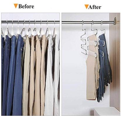 STAR-FLY Multi Pants Hangers