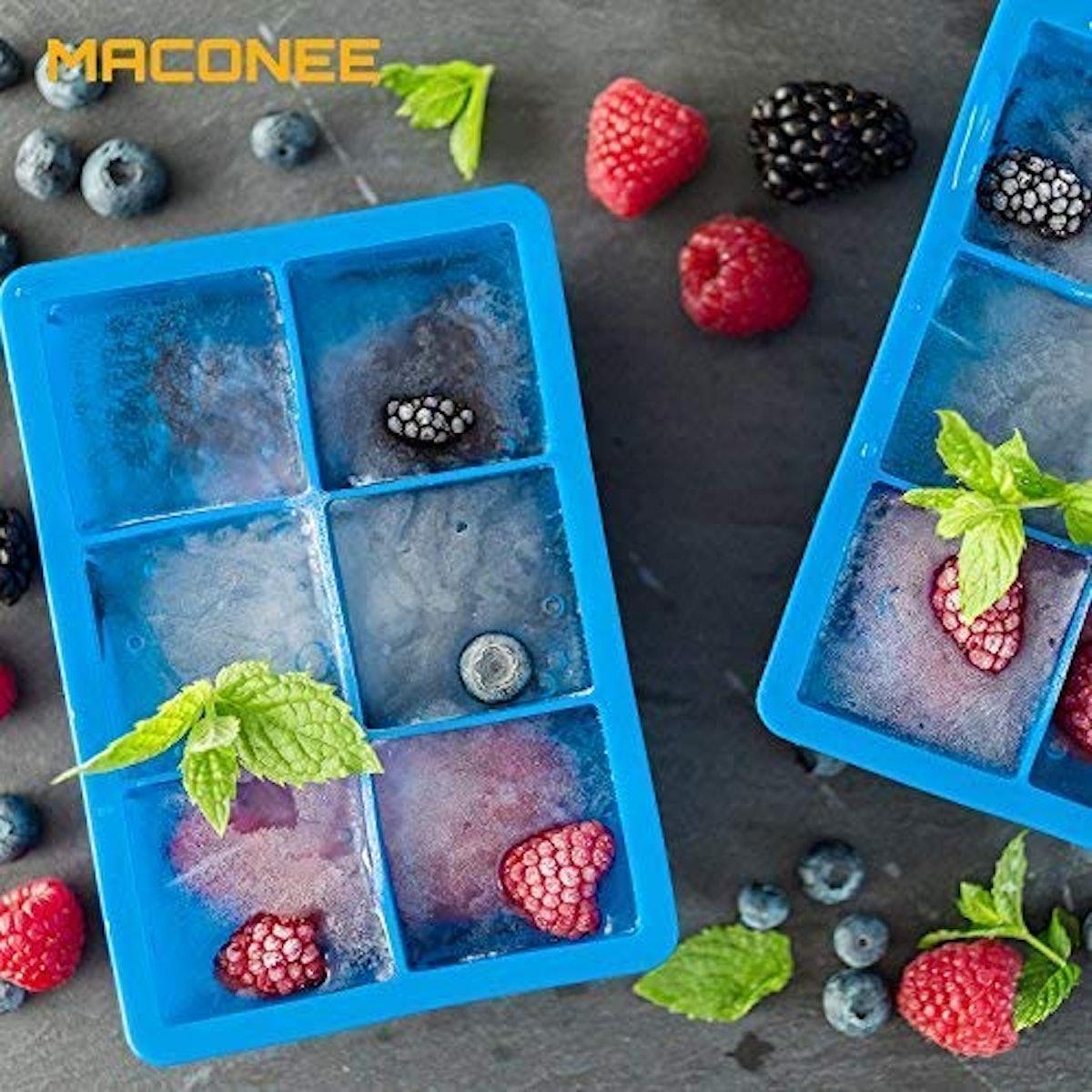 Maconee Ice Cube Trays (2-Pack)