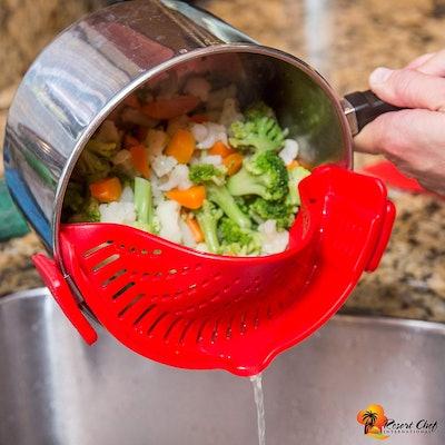 Resort Chef International Clip-on Pot Strainer
