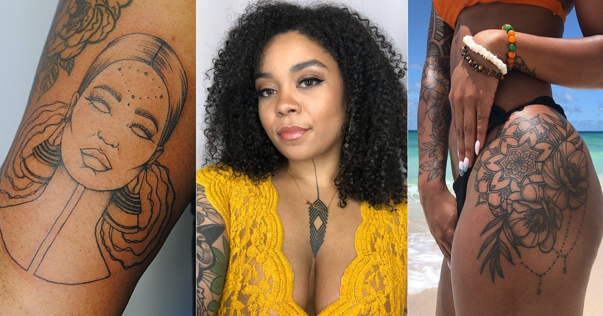 Brittany Randell Is Fed Up With The Myths About Tattooing On Darker Skin