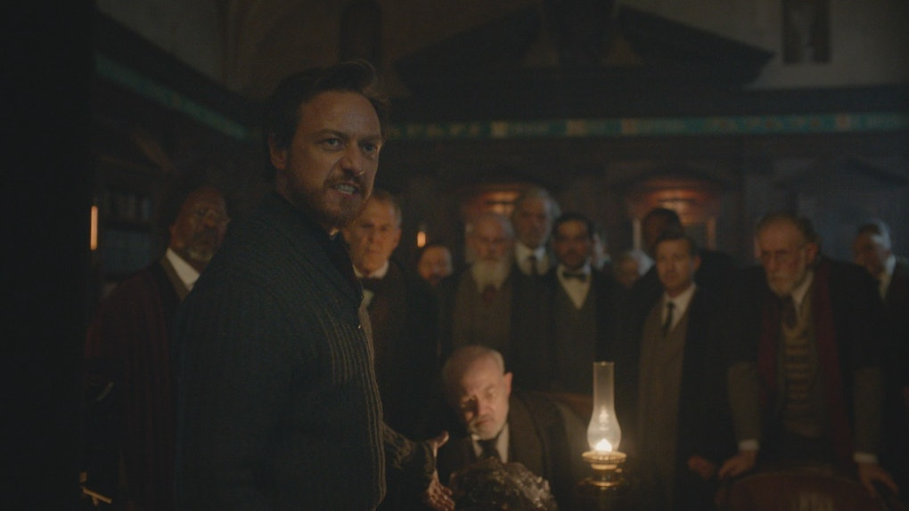 James McAvoy in His Dark Materials