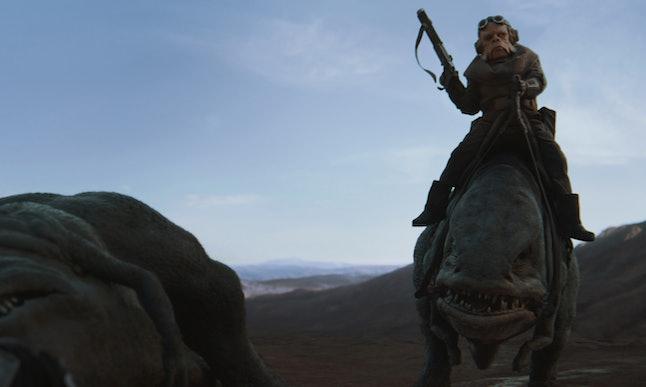 An ugnaught named Kuiil in 'The Mandalorian'