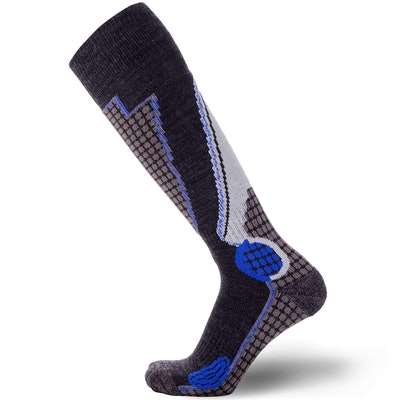Pure Athlete High Performance Wool Socks (1-Pack)