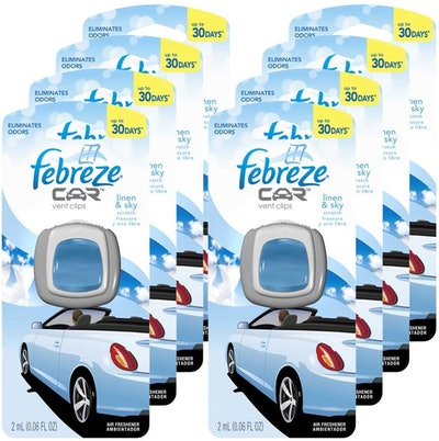 Febreze Car Vent Clips In Fresh Air Scent (8-Pack)