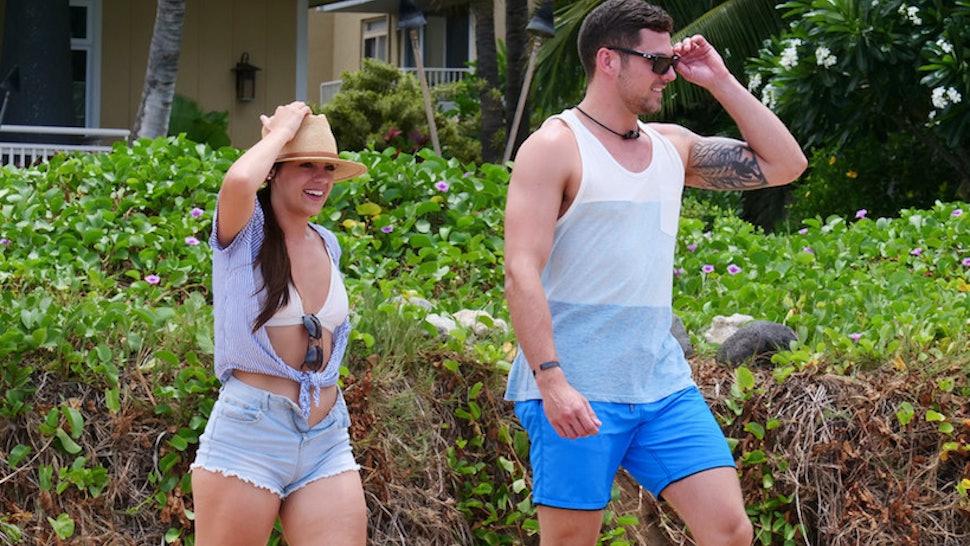 Ashley Howland and Ben Knobloch on Temptation Island
