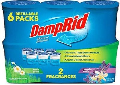 DampRid Moisture Absorber in Lavender Vanilla (6-Pack)