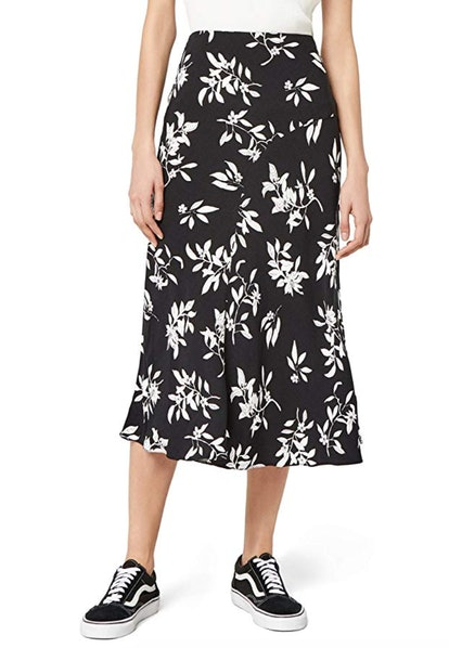 find. Women's Floral Midi Skirt