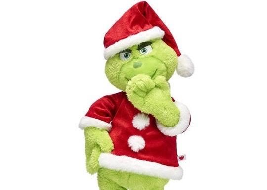 The Grinch at Build-A-Bear Workshop online only