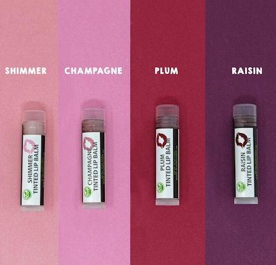 Organic Tinted Lip Balm by Sky Organics (4-pack)