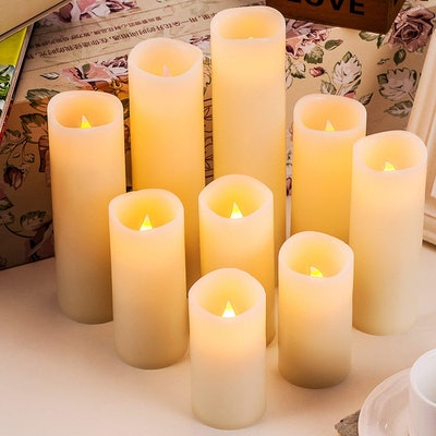 Enpornk Flameless Candles