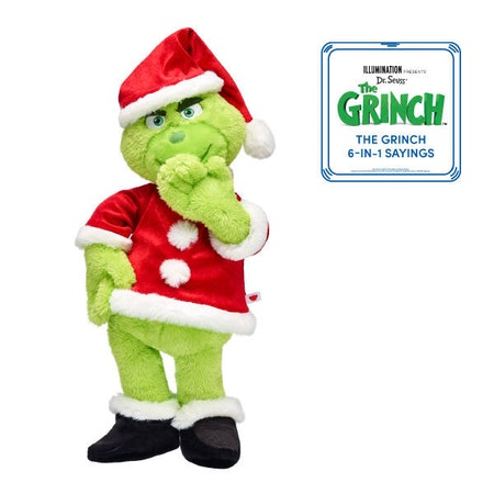 Online Exclusive The Grinch Santa Suit with Sound Gift Bundle