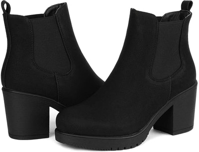 Dream Pairs High Heel Ankle Boots