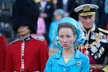 Erin Doherty as Princess Anne on 'The Crown'